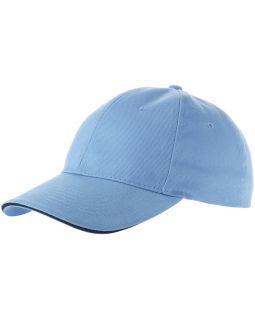 Бейсболка Challenge 6-ти панельная, синий/темно-синий