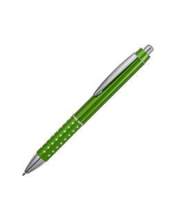 Ручка шариковая Bling, зеленый, черные чернила