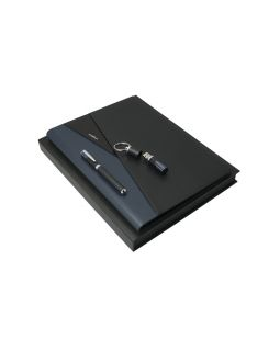 Набор: флеш-карта, папка A4, ручка-роллер