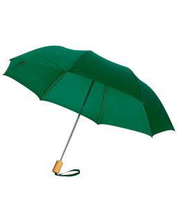 Зонт Oho двухсекционный 20, зеленый