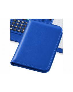 Блокнот А6 Smarti с калькулятором, ярко-синий