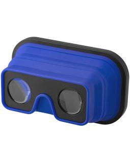 Складные силиконовые очки виртуальной реальности, ярко-синий/черный