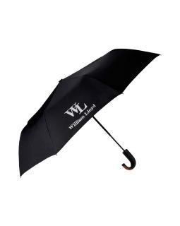 Складной зонт полуавтоматический  William Lloyd, черный