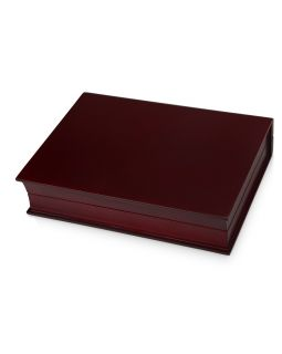 Подарочная коробка Браун, красное дерево/черный/золотистый