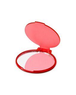 Зеркало Carmen, красный прозрачный