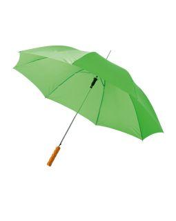 Зонт-трость Lisa полуавтомат 23, ярко-зеленый