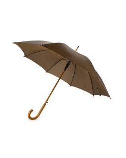 Зонт-трость Радуга, коричневый