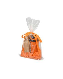 Подарочный набор Tea Cup Plus с чаем, оранжевый
