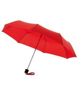 Зонт Ida трехсекционный 21,5, красный