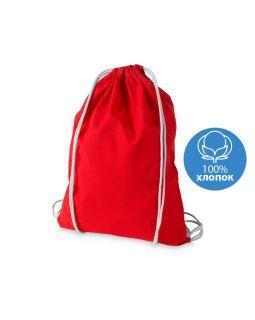 Рюкзак хлопковый Oregon, красный