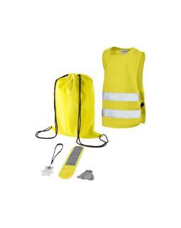 Детский светоотражающий набор из 5 предметов, желтый