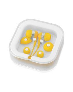 Наушники супер легкие Sargas, желтый