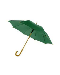 Зонт-трость Радуга, зеленый