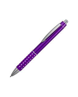 Ручка шариковая Bling, пурпурный, черные чернила