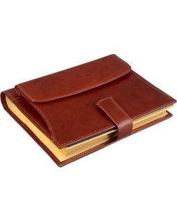 Ежедневник Совершенство Giulio Barсa, коричневый