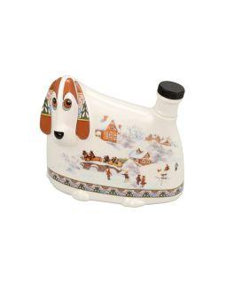 Штоф- собака Зимние забавы, 500мл