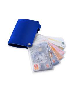Бумажник Valencia, ярко-синий