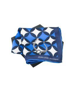 Набор: шелковый платок, браслет