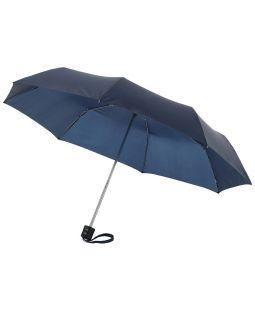 Зонт Ida трехсекционный 21,5, темно-синий