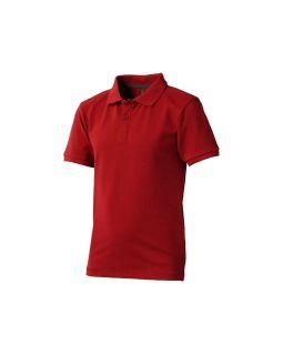 Рубашка поло Calgary детская, красный