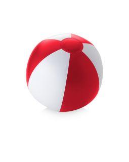 Пляжный мяч Palma, красный/белый