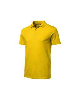 Рубашка поло First мужская, золотисто-желтый