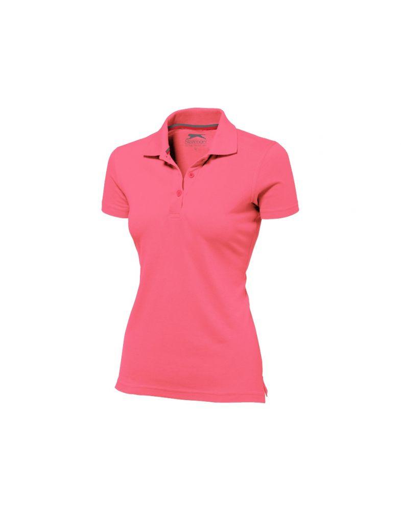 Поло с короткими рукавами Advantage, 2XL, женская, розовый