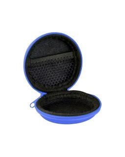Органайзер для проводов, ярко-синий