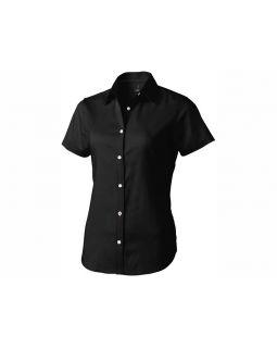Рубашка Manitoba женская с коротким рукавом, черный