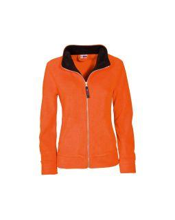 Куртка флисовая Nashville женская, оранжевый/черный