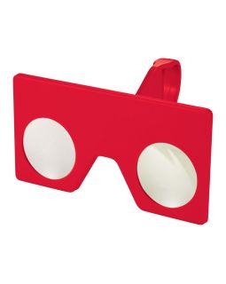 Мини виртуальные очки с клипом, красный