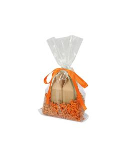 Подарочный набор Tea Duo с двумя видами чая, оранжевый