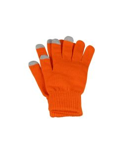 Перчатки для сенсорного экрана Сет, L/XL, оранжевый