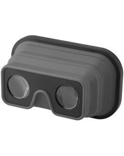 Складные силиконовые очки виртуальной реальности, серый/черный