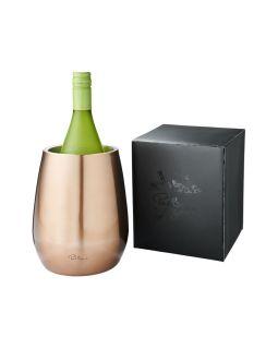 Двустенный охладитель вина Coulan из нержавеющей стали,  медно-красный