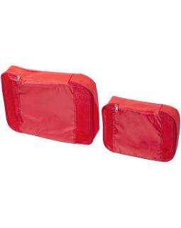 Упаковочные сумки - набор из 2, красный