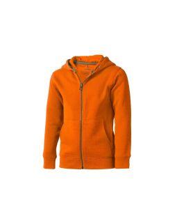 Толстовка Arora детская с капюшоном, оранжевый
