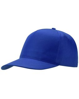 Бейсболка Poly 5-ти панельная, кл.синий