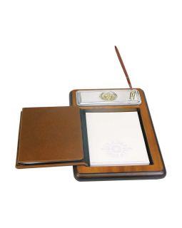 Подставка для бумажного блока с ручкой и телефонной книжкой Голова льва Luigi Pesaresi