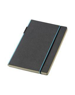 Блокнот А5 Cuppia, черный/светло-синий