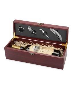 Набор аксессуаров для вина Венге, коричневый