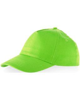 Бейсболка Memphis 5-ти панельная, зеленое яблоко