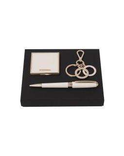 Подарочный набор: зеркало складное, брелок, ручка шариковая. Hugo Boss