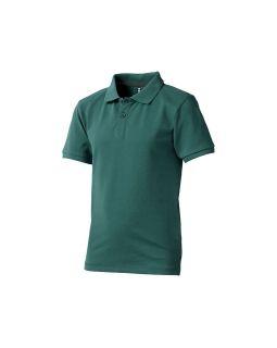 Рубашка поло Calgary детская, изумрудный