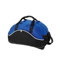 Сумка спортивная Boomerang, черный/ярко-синий